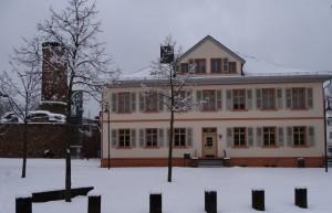 Winterbild vom Alten Amtshaus
